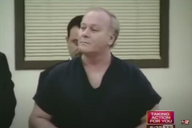 Чендлер во время слушания по делу о вынесении приговора в ноябре 1994 г. (источник: Youtube)