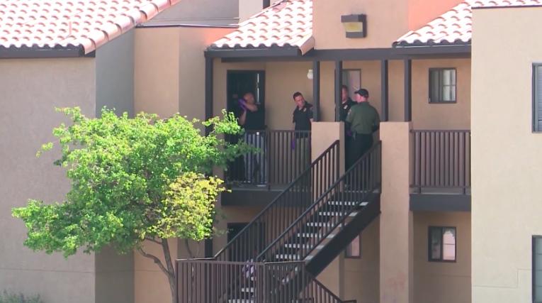 Комплекс апартаментов Arroyo Villas, где произошло убийство Виктории (источник: Youtube)