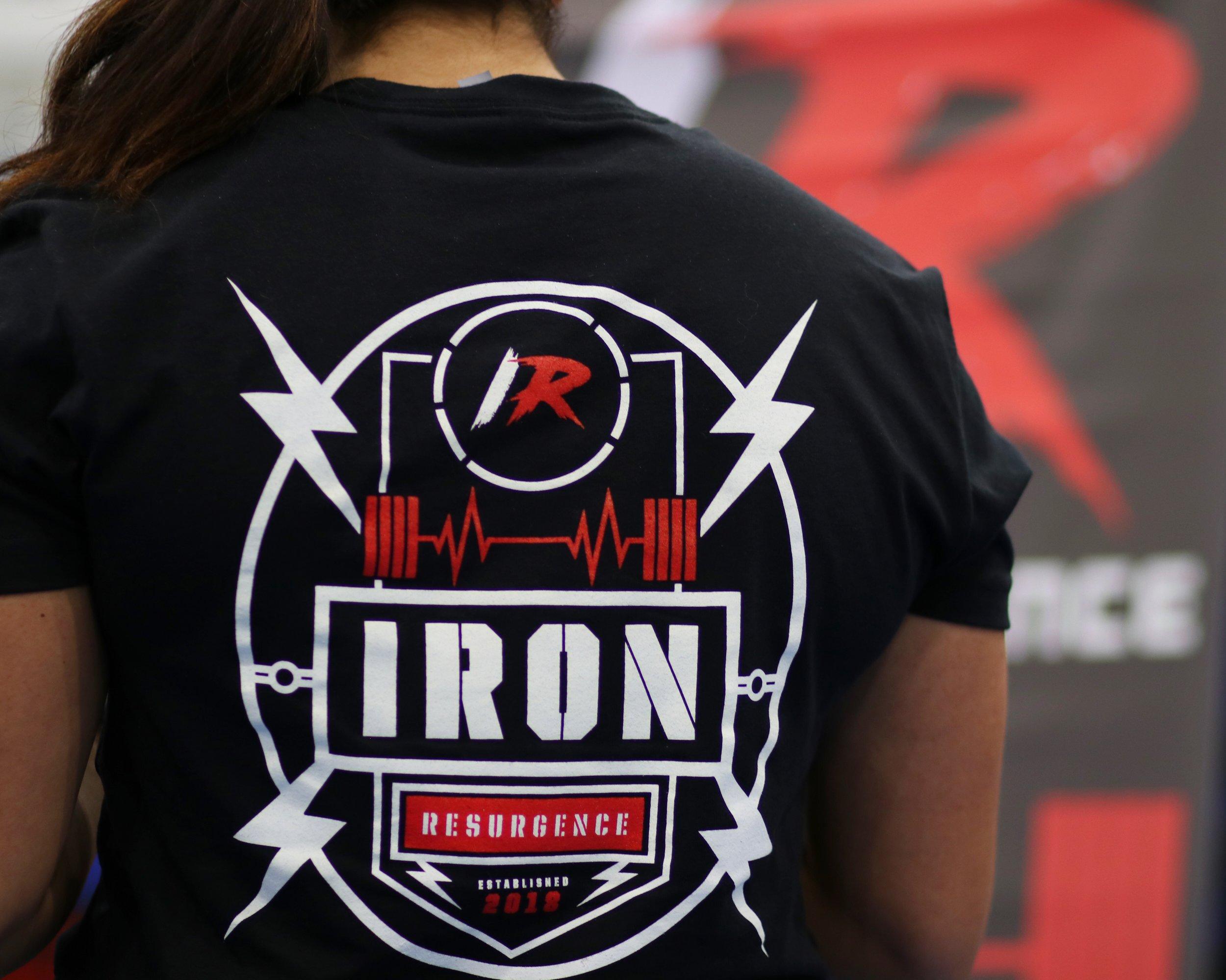Iron Resurgence CrestTee - $25.00