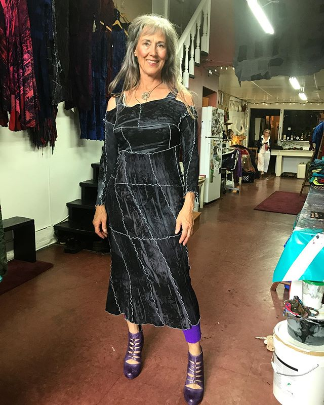 One of our favourite clients who just looks stunning in every piece she wears. #women #empowerment #community #clothing #identity #culture #fashion #design #craft #textiles #style #grace #textilewaste #transformation #canadiandesign
