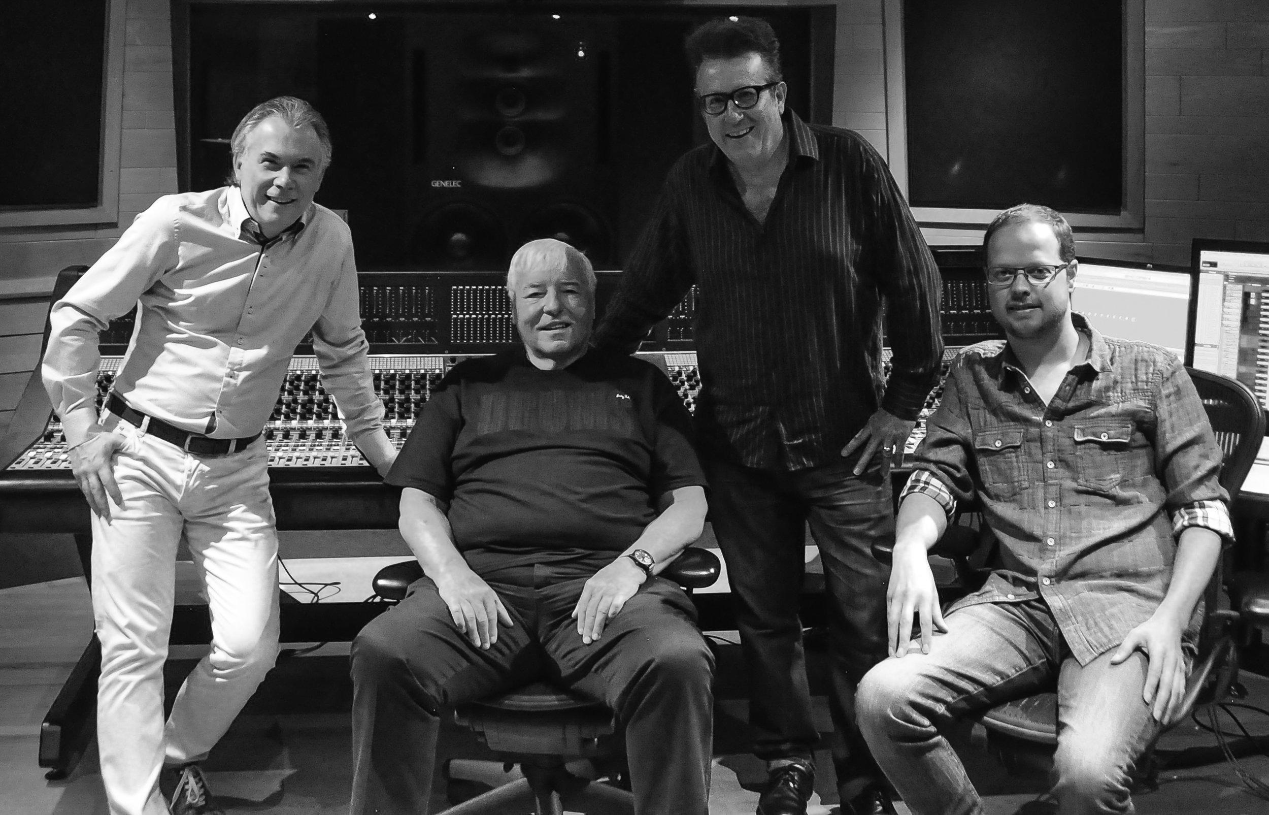 Wilifried, Gary , Bernie & Patrick at Galaxy
