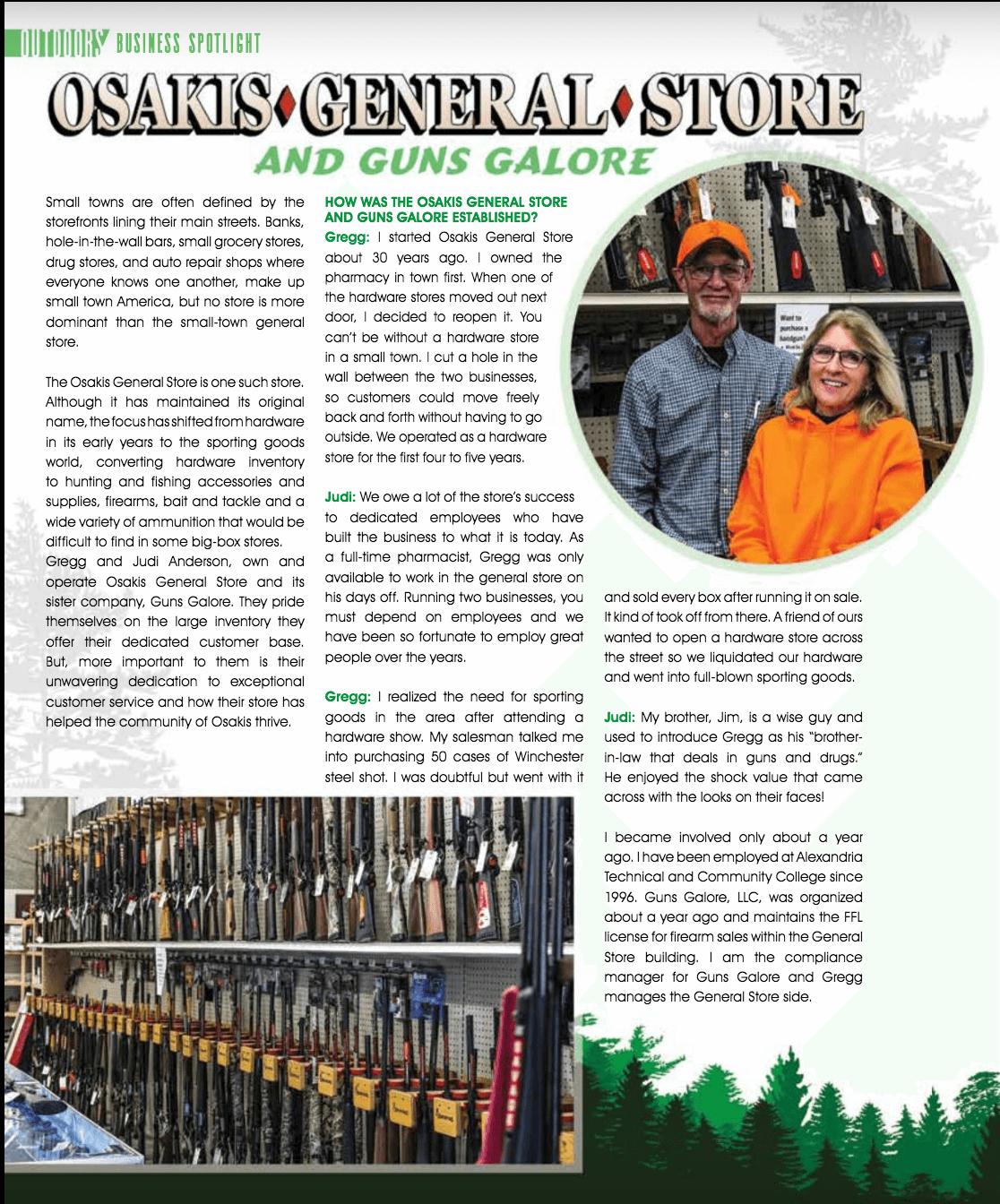Read our Lake & Home Magazine feature and interview
