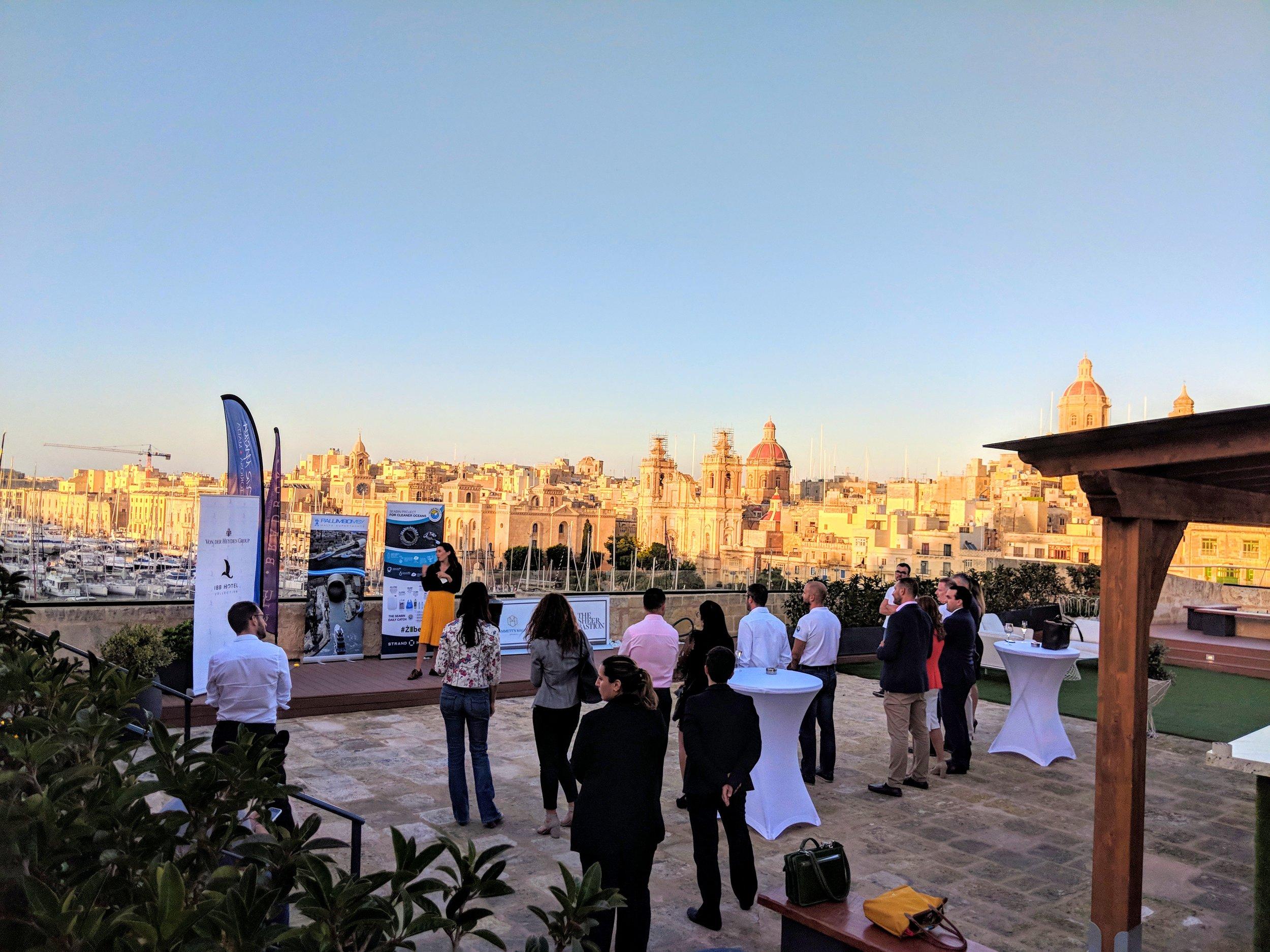 Launch of Malta's Second Seabin