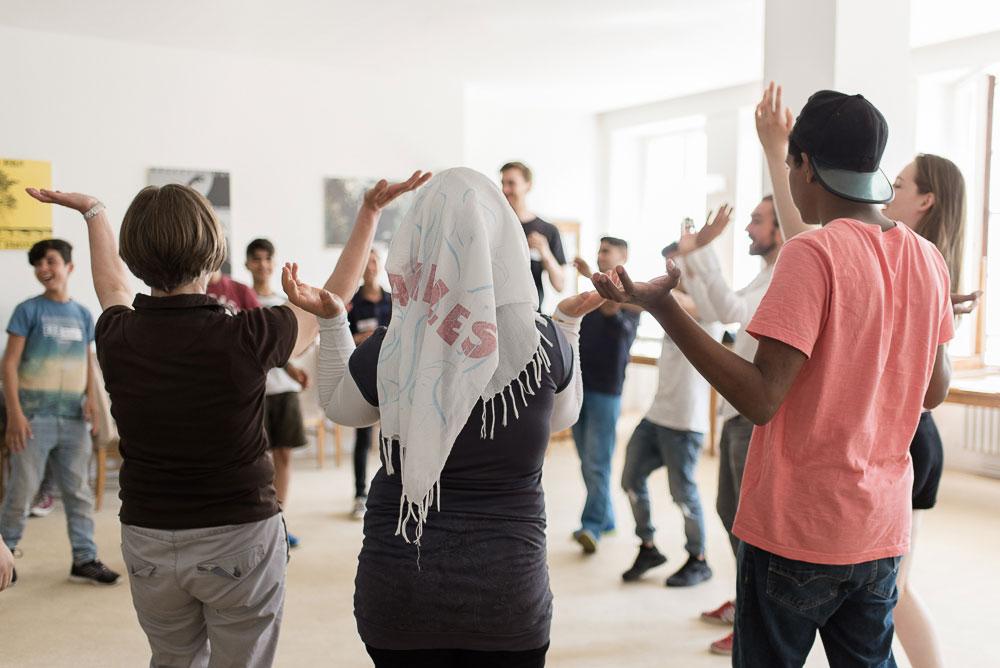Direction d'ateliers - Staatsoper Unter den LindenWorkshops für geflüchtete - Spielzeit 2017/18