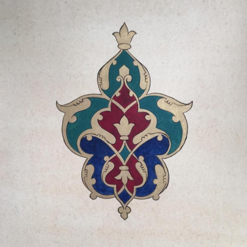 Islimi Series III - Persian Motif 2017  (SOLD)