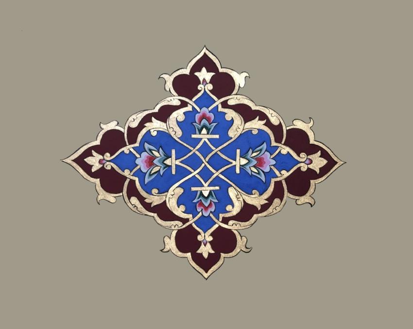 Islimi Series II - Persian Motif 2017  (SOLD)