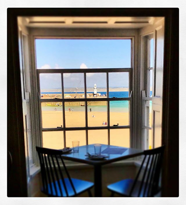 Can't think of a single reason anyone would want to come here today! ☀️☀️☀️☀️☀️☀️☀️☀️☀️☀️ . . . #smallplates #theoldcustomhousestives #trattoria #antipasti #harbourview #rainrainrain #sunsoutgullsout #mulderandscully
