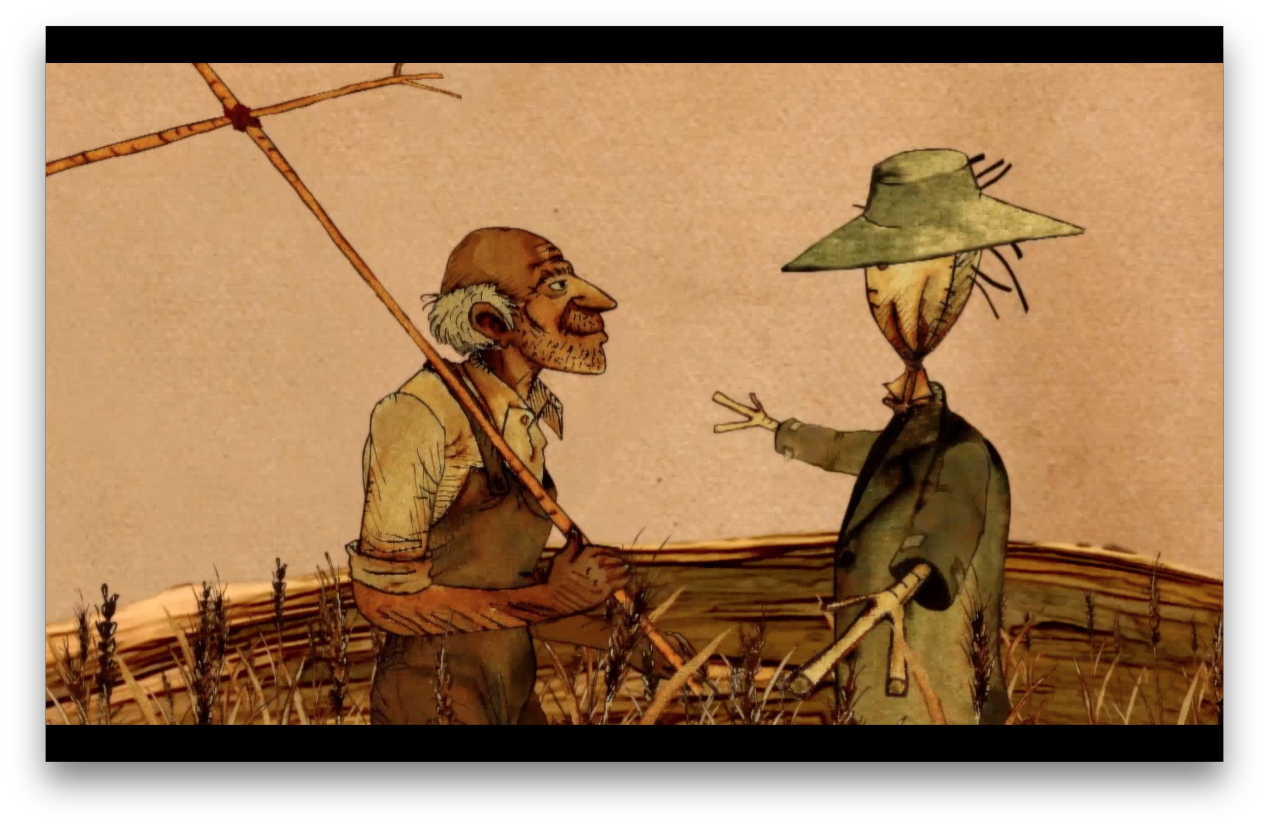 Blows with the Wind (Iran) - After a magical event a scarecrow comes to life. - 06:30Directed by Hazhir As'adi