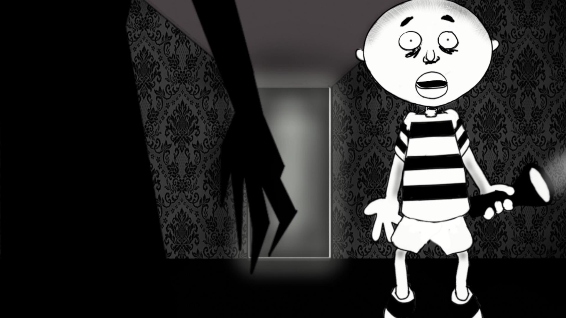 Creep (Detroit) - A stormy night, a dark house, strange noises, and a little boy with a very active imagination run wild in this animated short film. - 03:18Directed by Carl Wilson