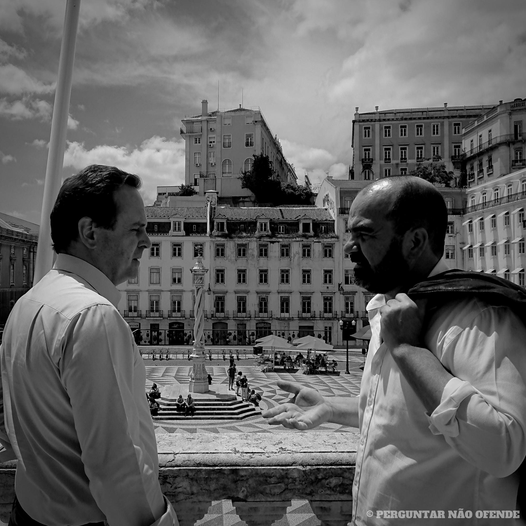 "Fernando Medina: ""O turismo vai matar Lisboa?"""