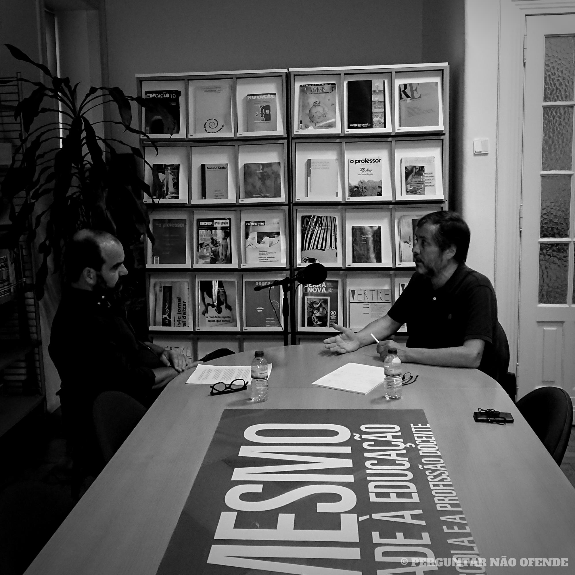 """Mário Nogueira: """"A luta dos professores é egoísta?"""""""