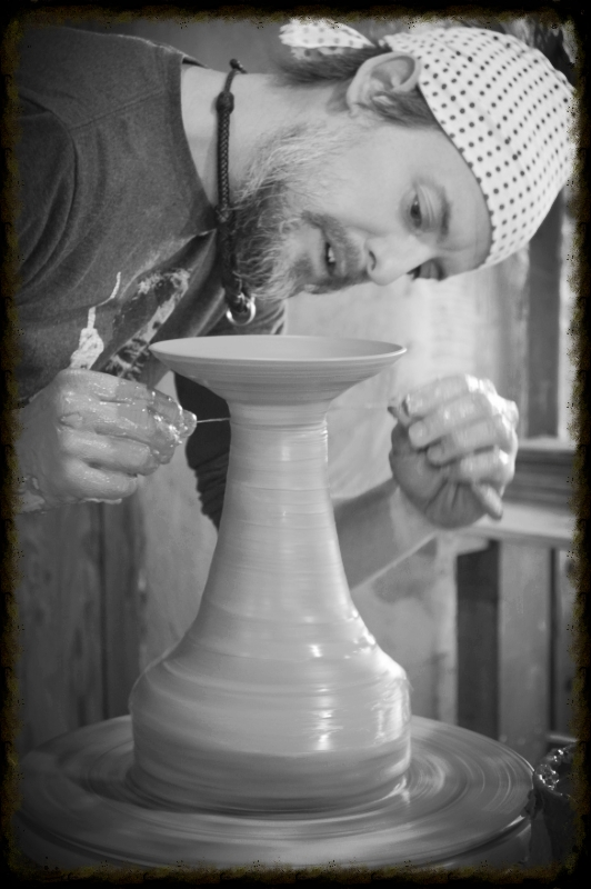 Working with Native Clays - August 10 - 11This workshop provides students with an introduction to locating, processing and using native clays. We will work on methods for testing local clays, throwing, hand building and slip casting with the clay, using the clays for slips and glazes. Taking a field trip(s) TBD. Taught by JD Jorgenson.