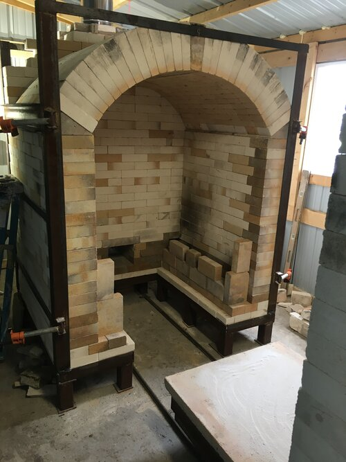 """Our Gas Kiln, """"Serenity"""""""