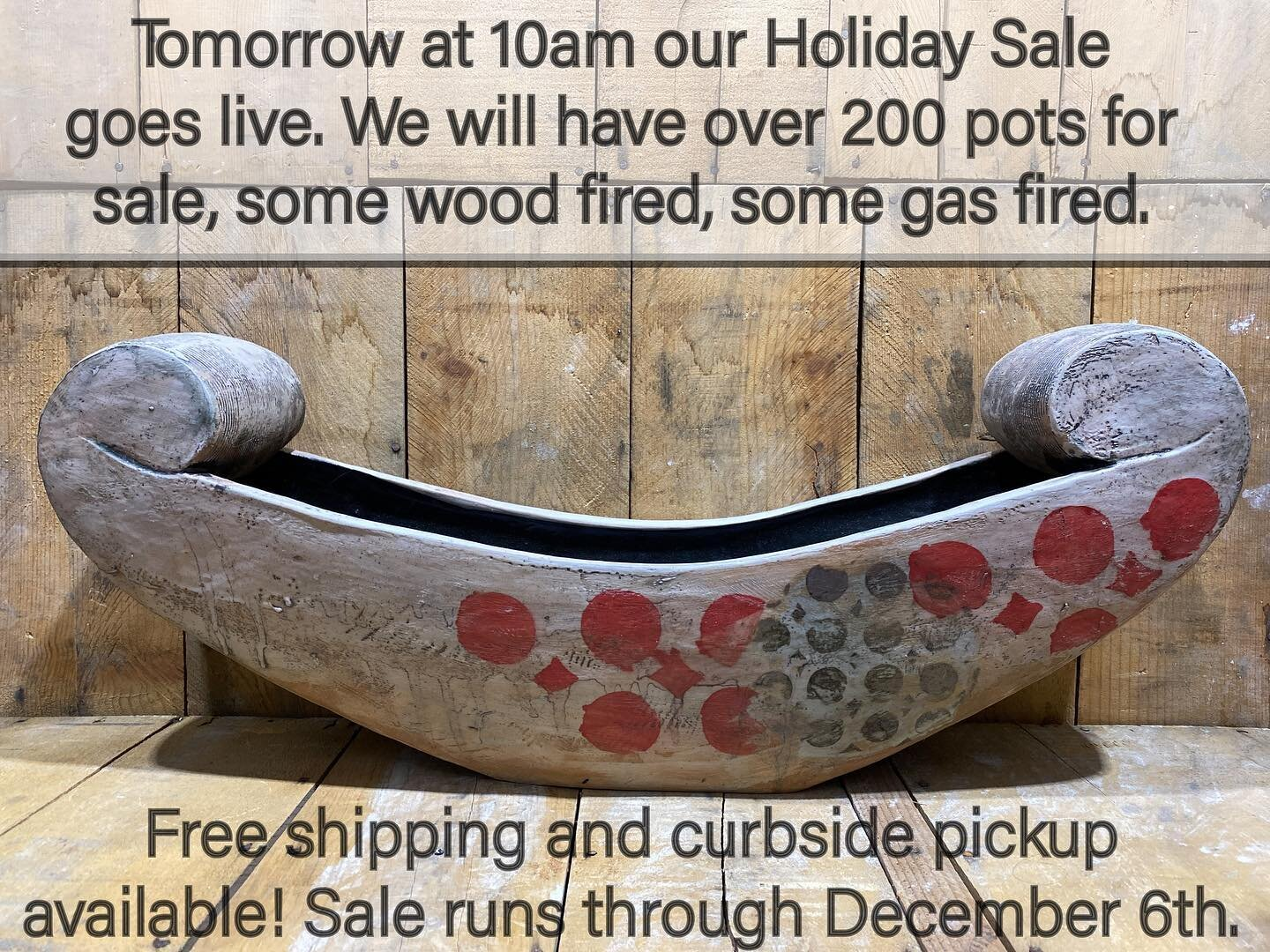 Hi,  Hope you all are well. Please join us for our Online Holiday Sale starting tomorrow at 10 am. Send something made with love to someone that you love.😊 Thank you for looking,  Megan and JD