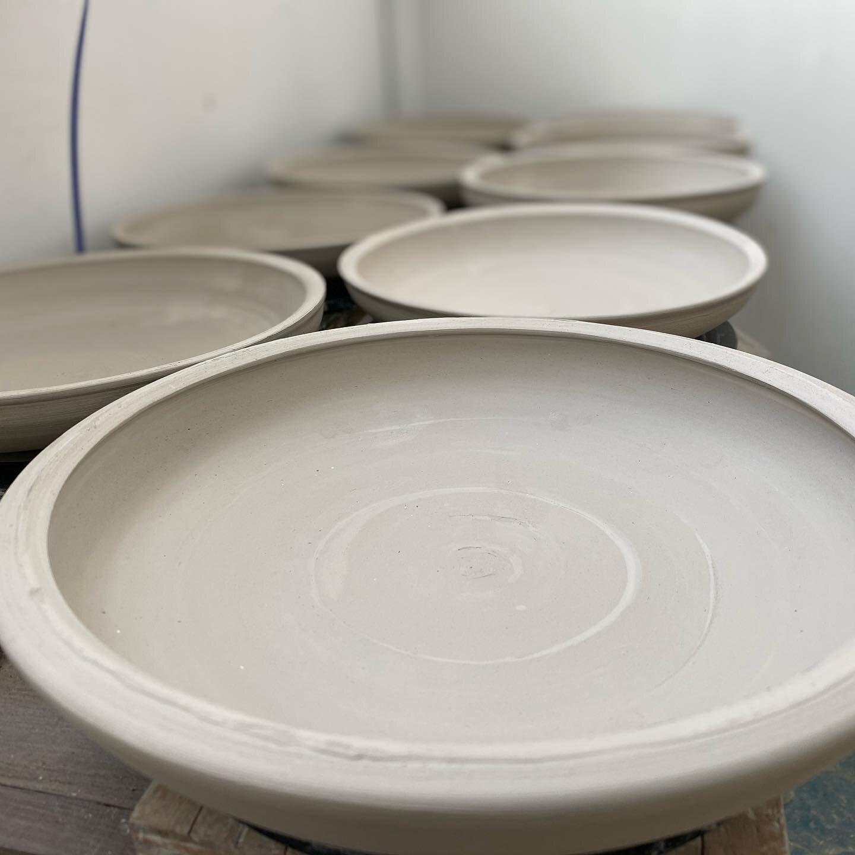 Plates! Happy Monday😃 #wip #mnmade #northdakotaclay
