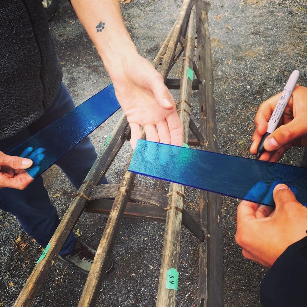 blue glass making for qajaq.jpg