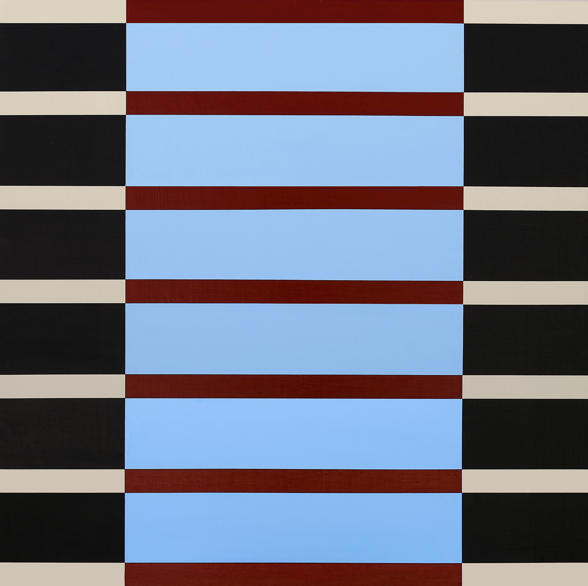 She Wore Stripes; Sky Blue