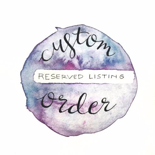 CUSTOM ORDER LISTING