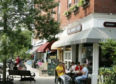 Main Street in Hanover, New Hampshire