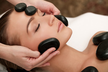 My Hot Stone Facial Treatment incorporates gentle massage with the stones, using their healing warmth to soothe tension stored in the face, neck and shoulders.