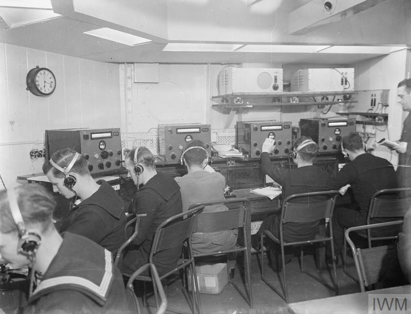 The Radio room and operators at work. (1943).jpg