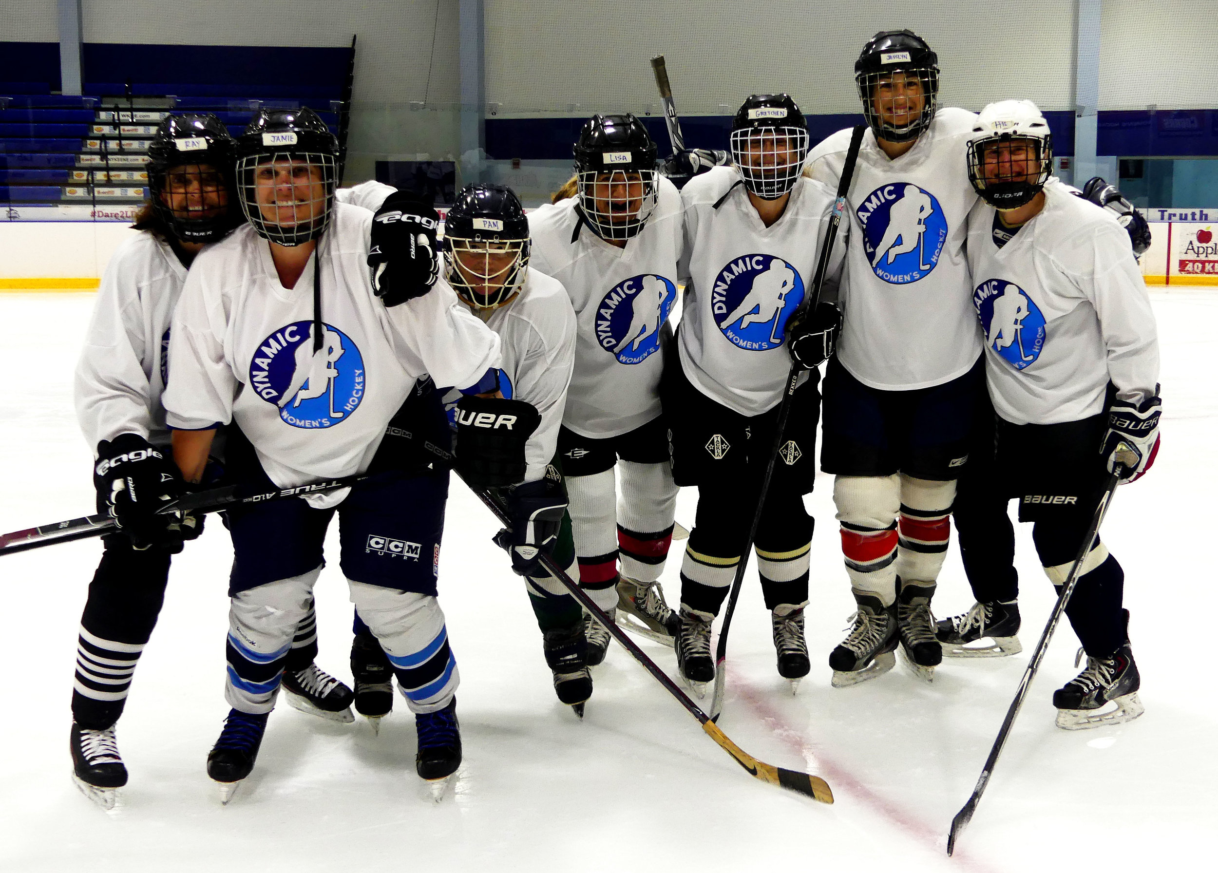 Adult Women's Hockey Camps