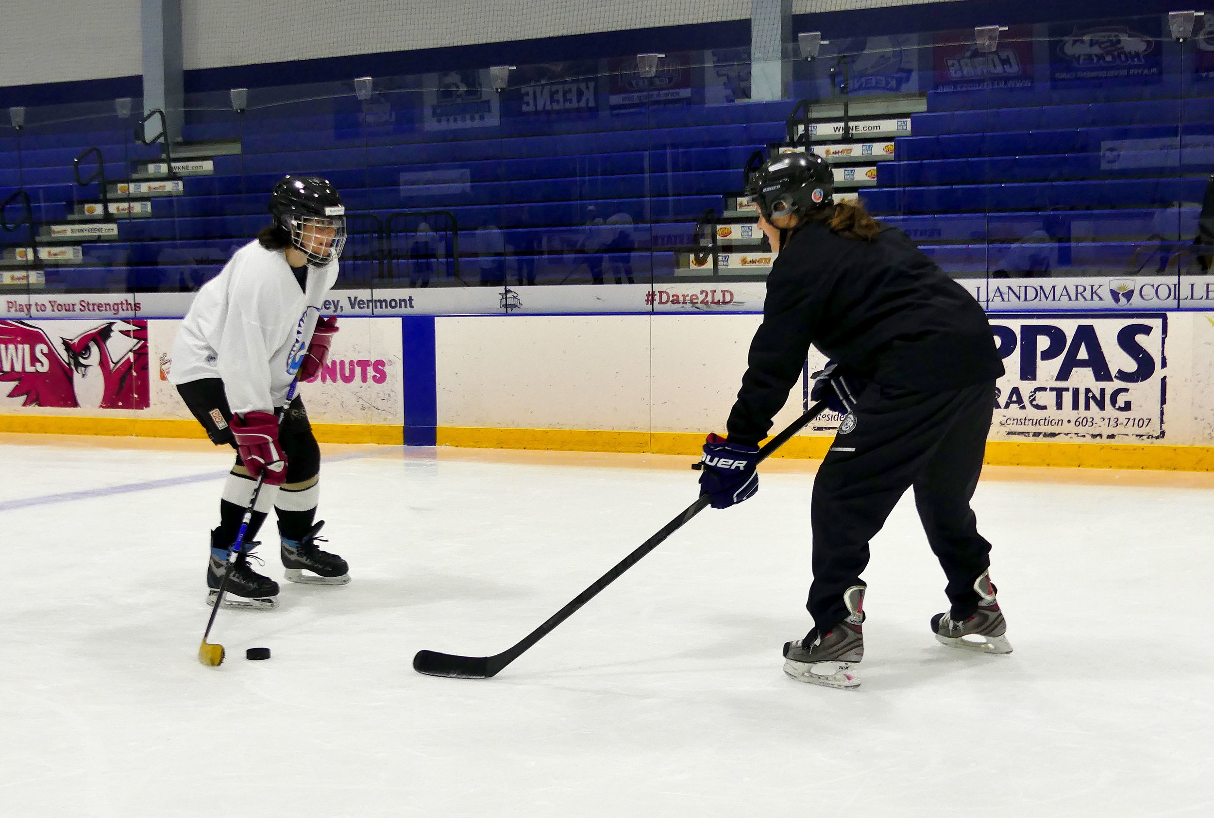 Testimonials - Hear what past clinic participants have to say about Dynamic Women's Hockey