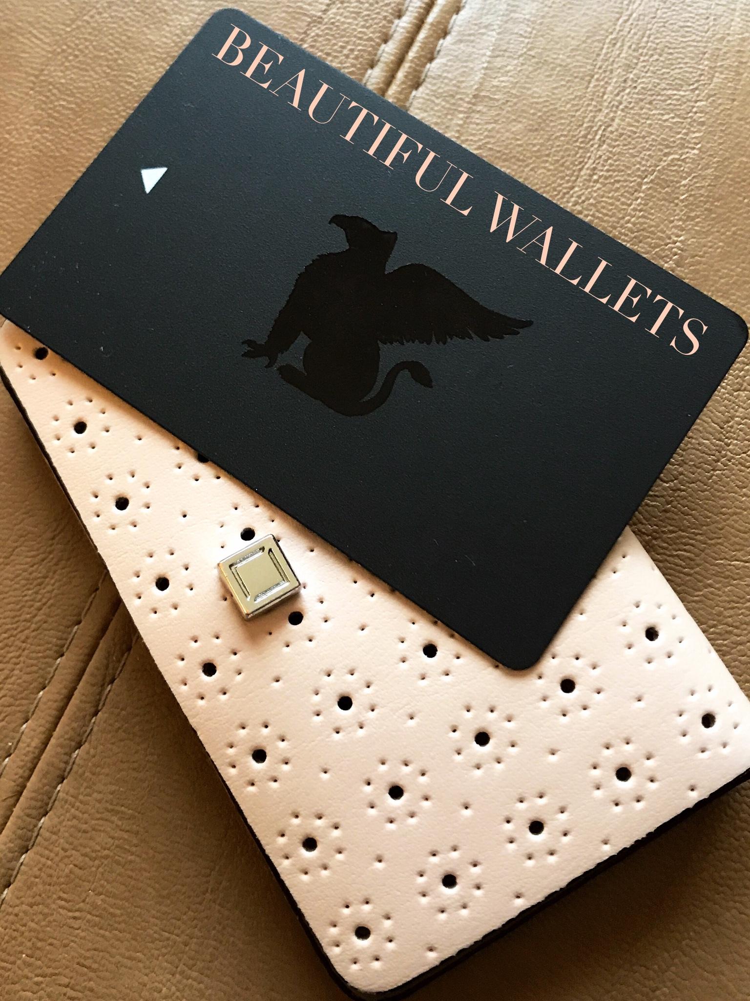 Lodis card keeper wallet : Blush