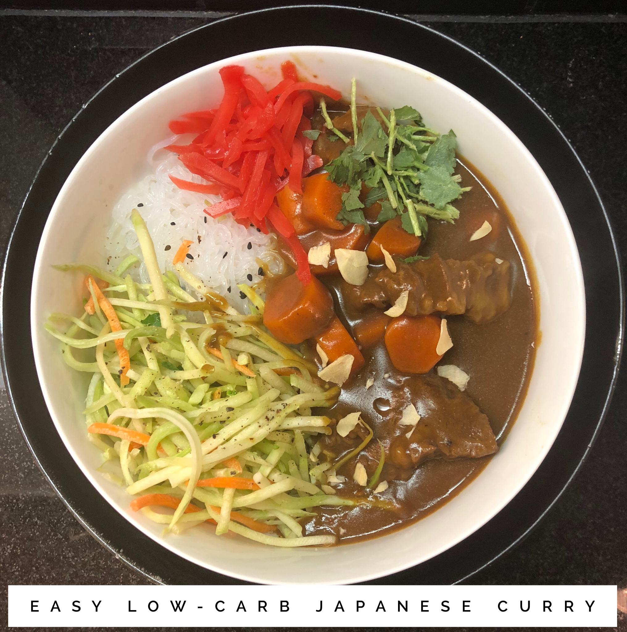 Low Carb Japanese Curry