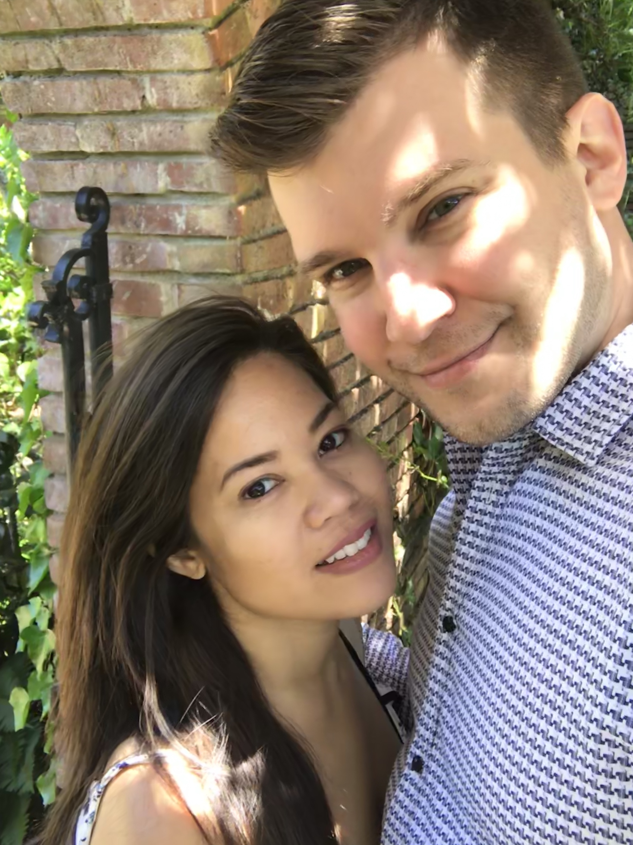 The Beauty of Filoli: Couple Picture