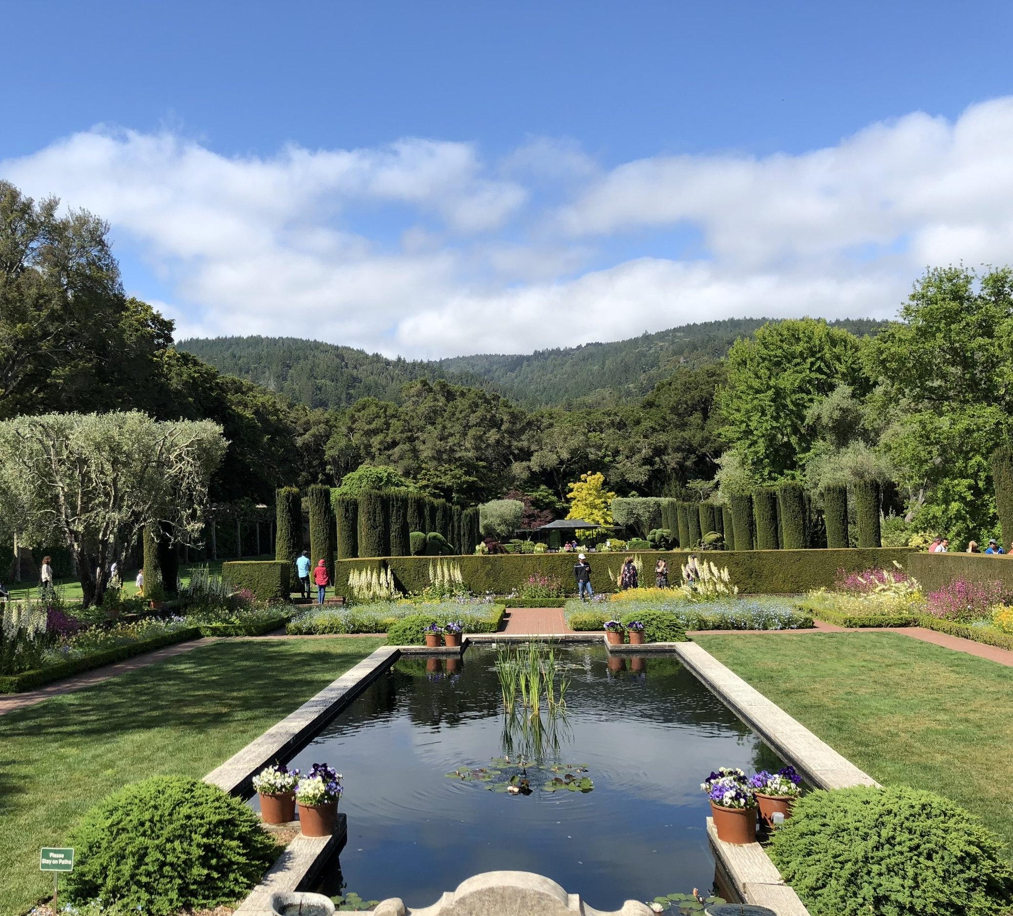 The Beauty of Filoli: Sunken Garden