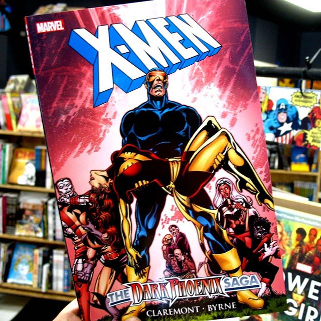 Dark Phoenix is next week, are you ready?! If you need a refresher before you see the movie, stop by and pick up this @chrisclearmountain #johnbyrne classic and get caught up!  #darkphoenix #darkphoenixsaga #jeangrey #xmen #marvelcomics #ashevillecomics #avlcomics #southasheville #southashevillecomics