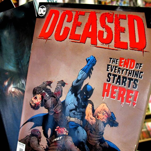 DCeased second issue comes out this week! If you missed the first issue we still have all three covers in stock. You're gonna want to read this one, @tomtaylormade proves his #injustice run is just the tip of the iceberg. PM with any hold requests!  #ashevillecomics #avlcomics #southasheville #southashevillecomics #dceased #DCcomics #shutupandtakemymoney
