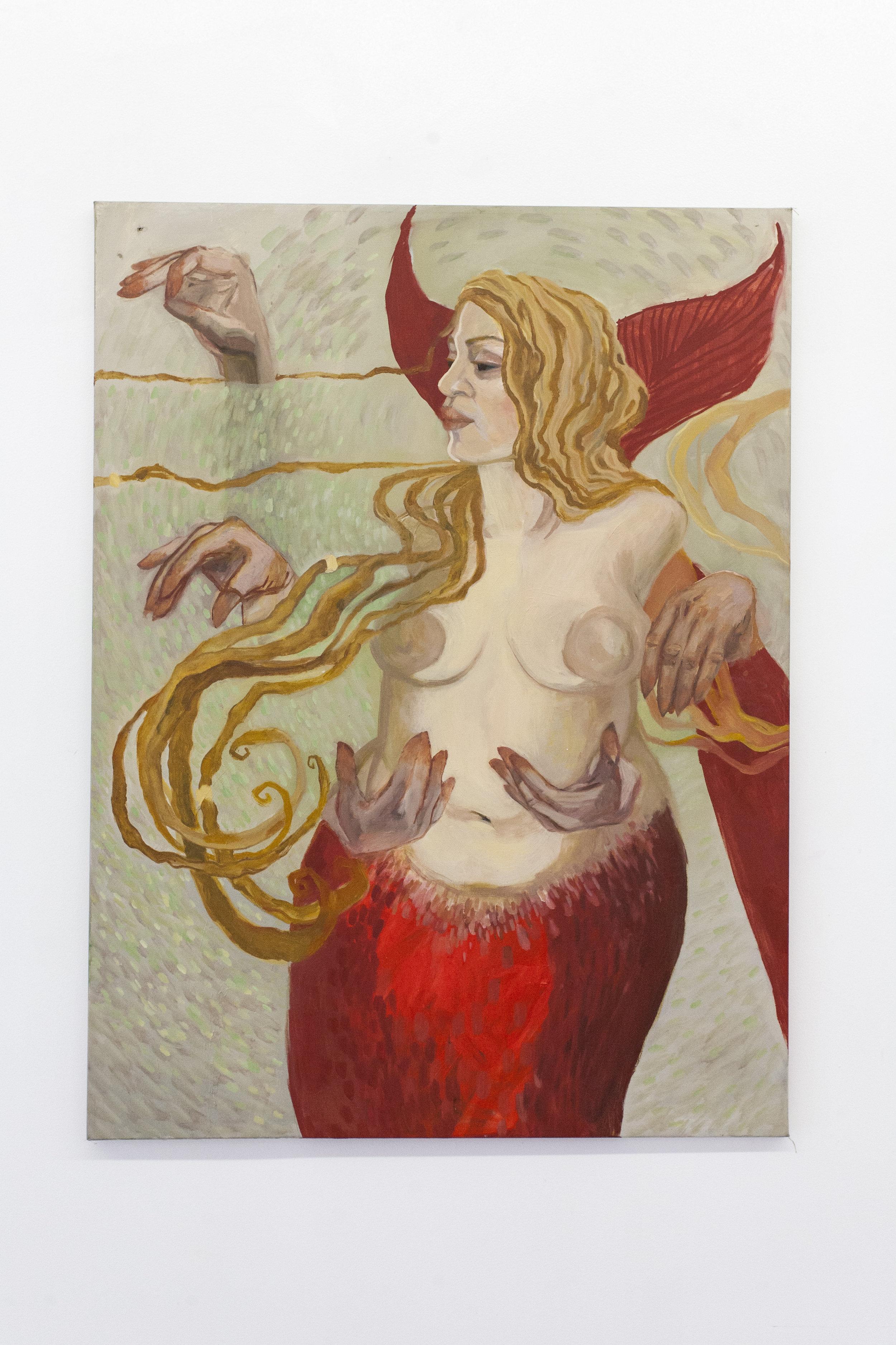 """La Sirena, Oil on Canvas, 36""""x48"""""""