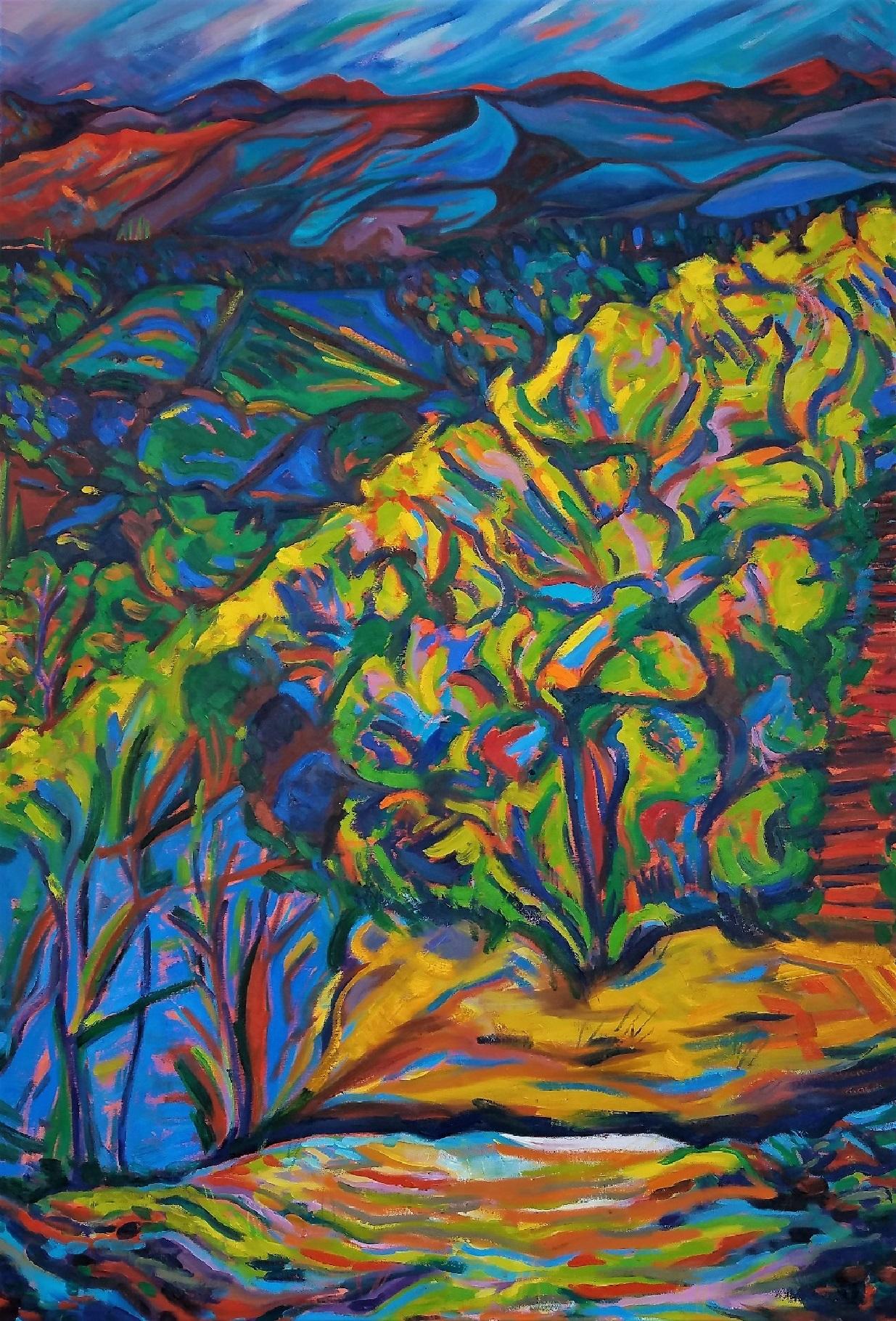 Uphill Rewind, Oil Paint, 45x65.jpg