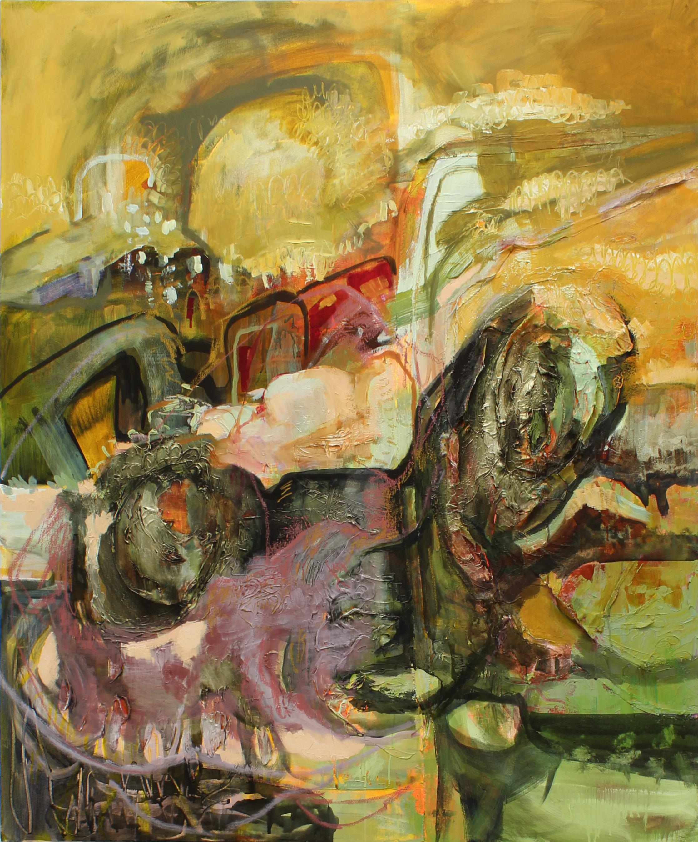 """It Felt So Heavy"" Oil on Canvas. 60x72, 2017."