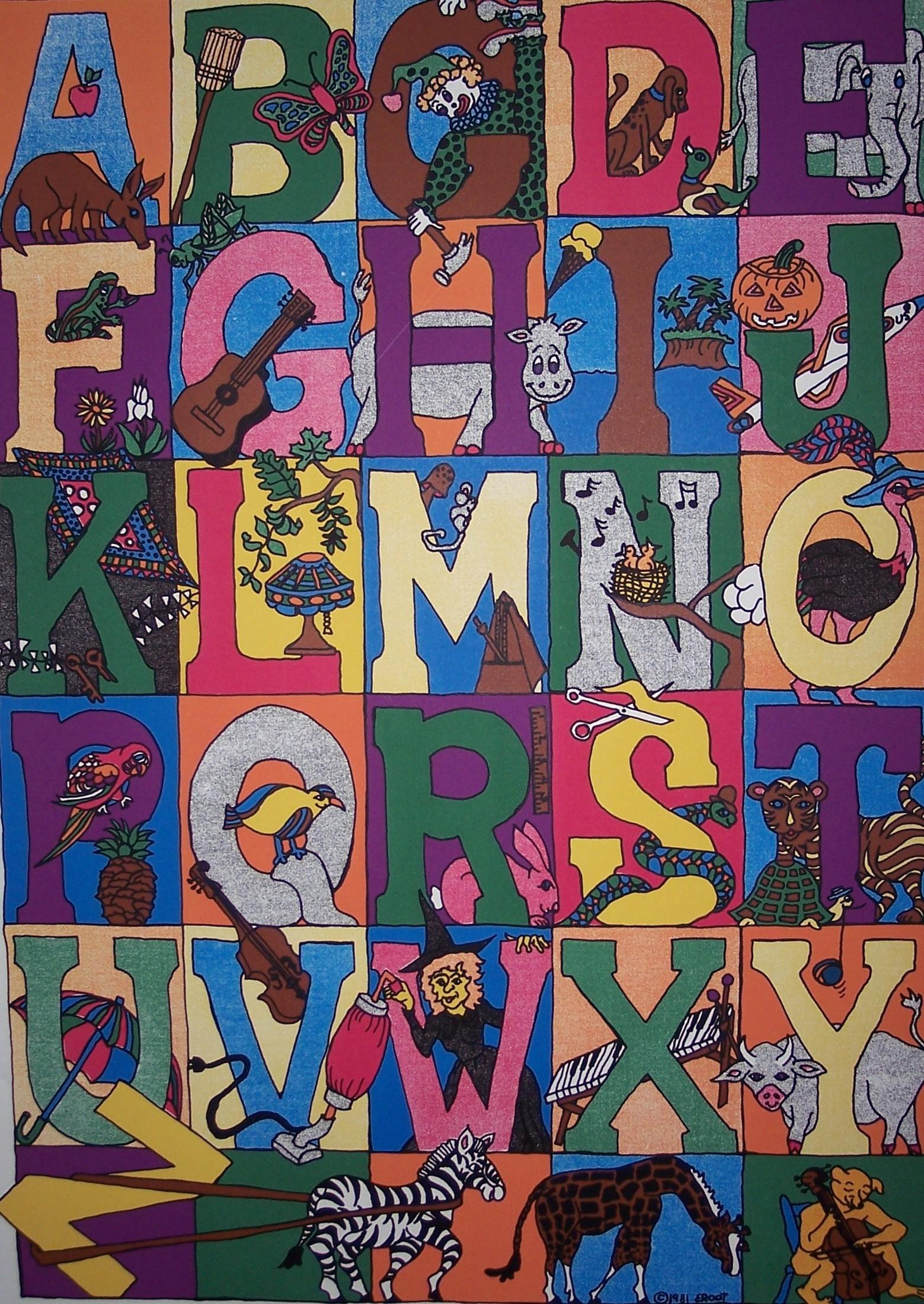 """""""Children's alphabet"""""""