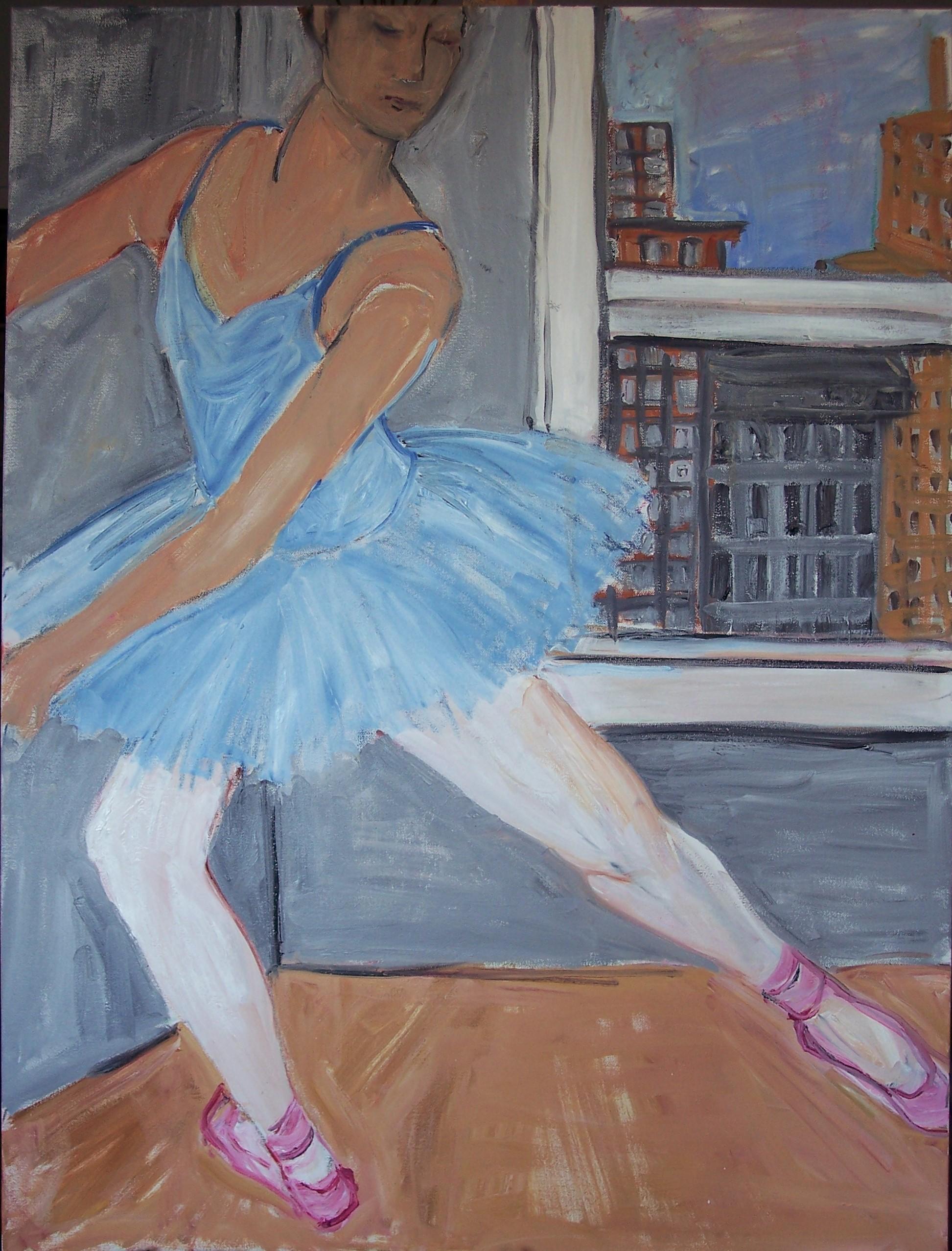 Ballet Class (30 X 40)