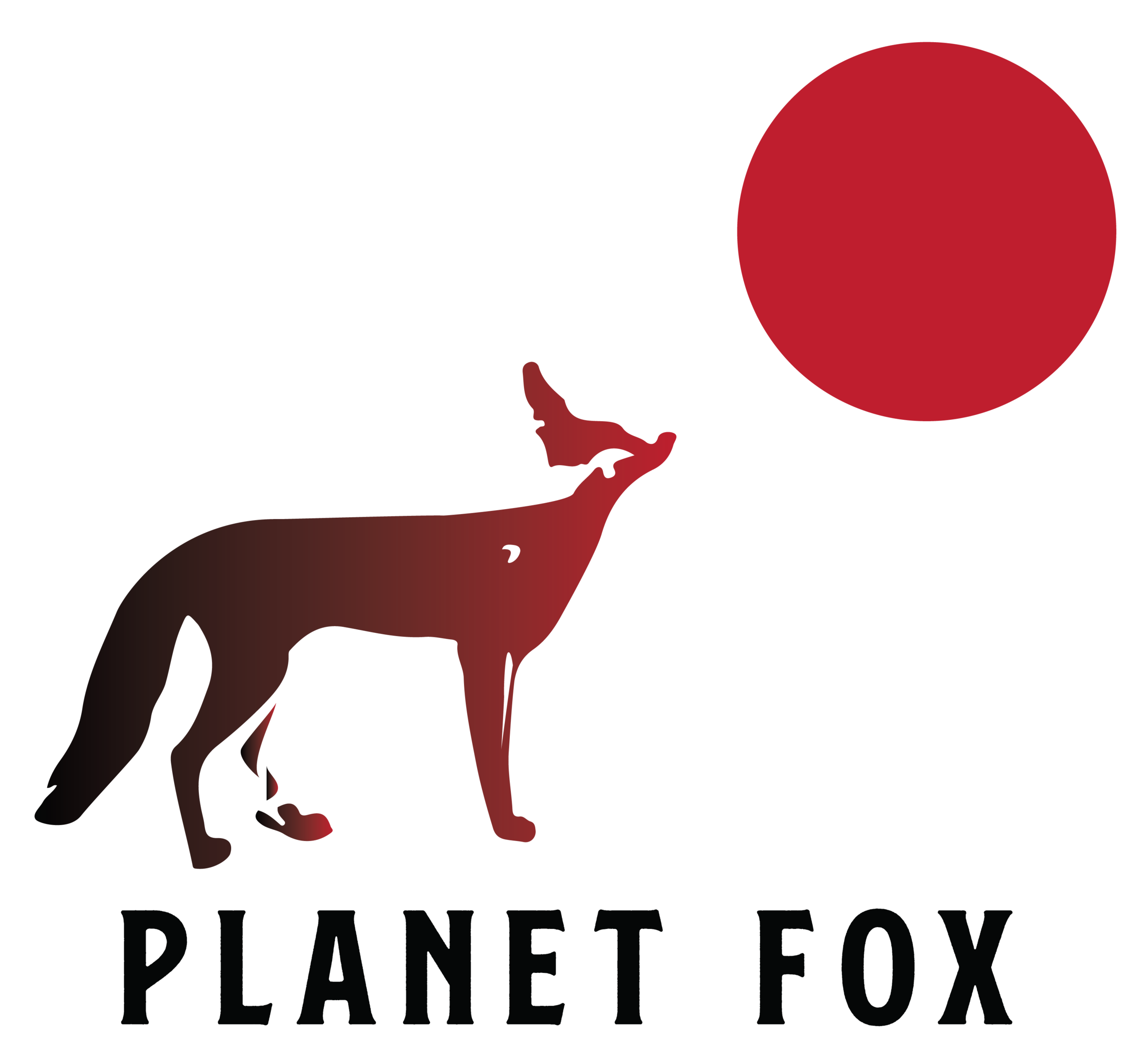 Logo for Planet Fox Design (you're here!).