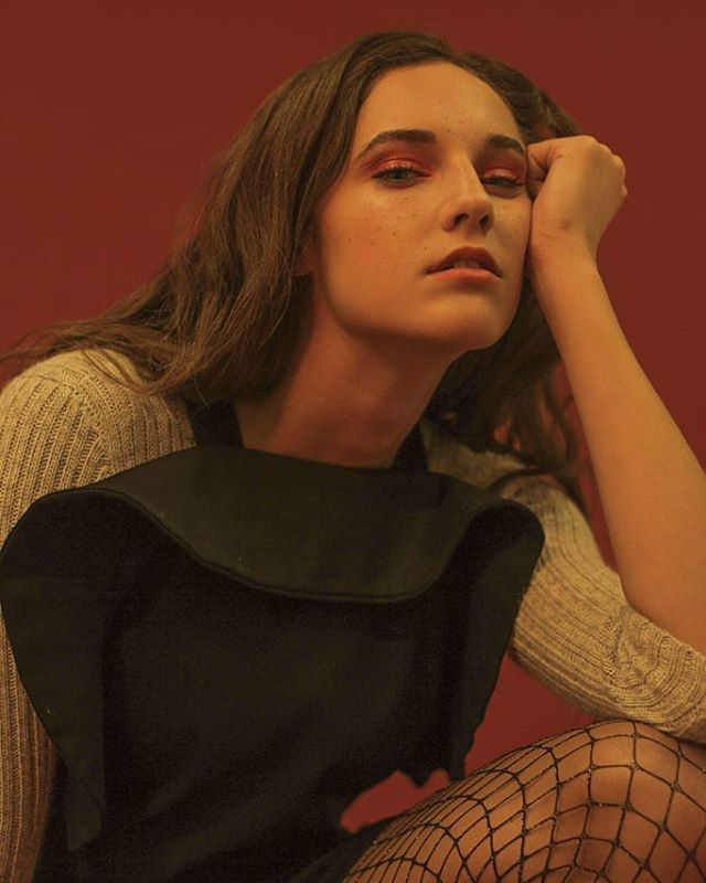 Throwback ⭐ Parker of @modemodelsintl for @shopnewclassics with makeup by @carmen_cl91.