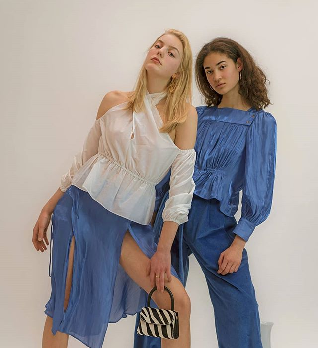 Photo and styling for @shopnewclassics featuring @leahbeauchesne and @mya.whitee of @modemodelsintl ✨