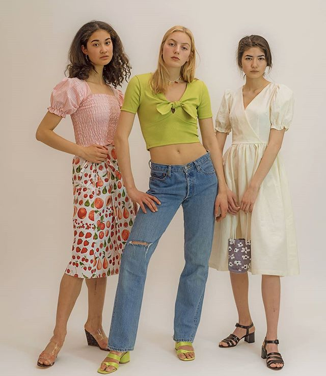 Mya, Leah and Mayuko for @shopnewclassics.
