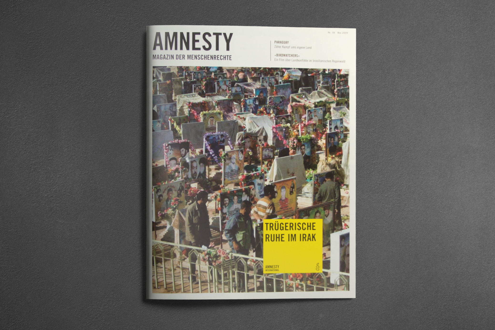 Amnesty Magazin - Editorial Design