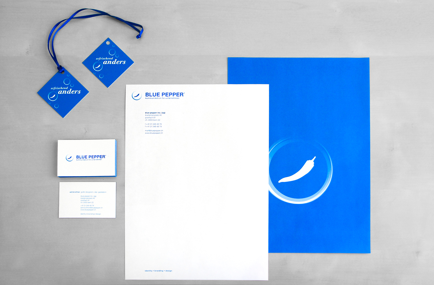 blue pepper - Corporate Design