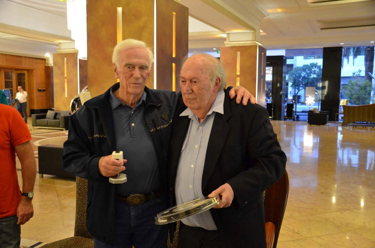 Fig. 4 -Gene Cernan and Brian J. O'Brien