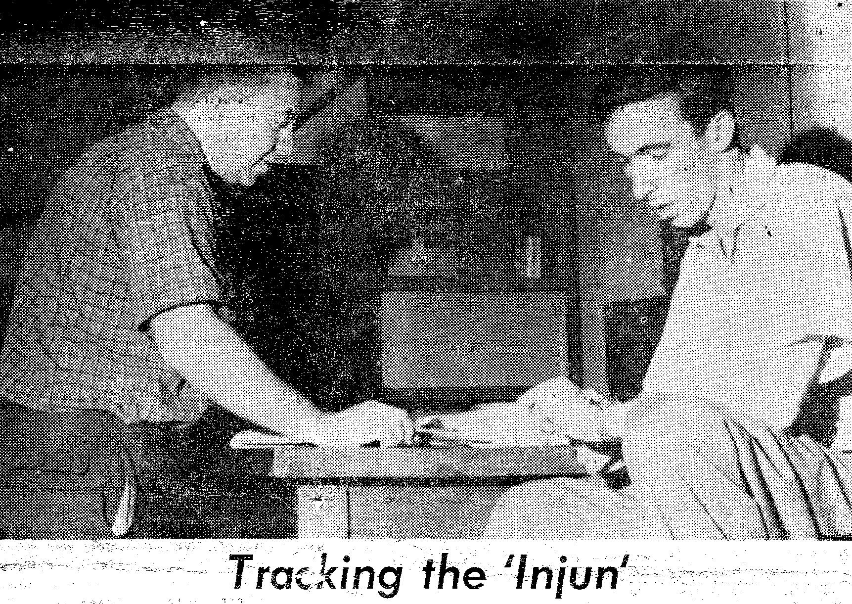 Brian J. O'Brien and James van Allen tracking the Injun 1 satellite.