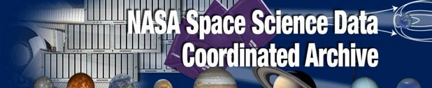 Welcome to the NASA Space Science Data Coordinated Archive, NASA's archive for space science mission data.