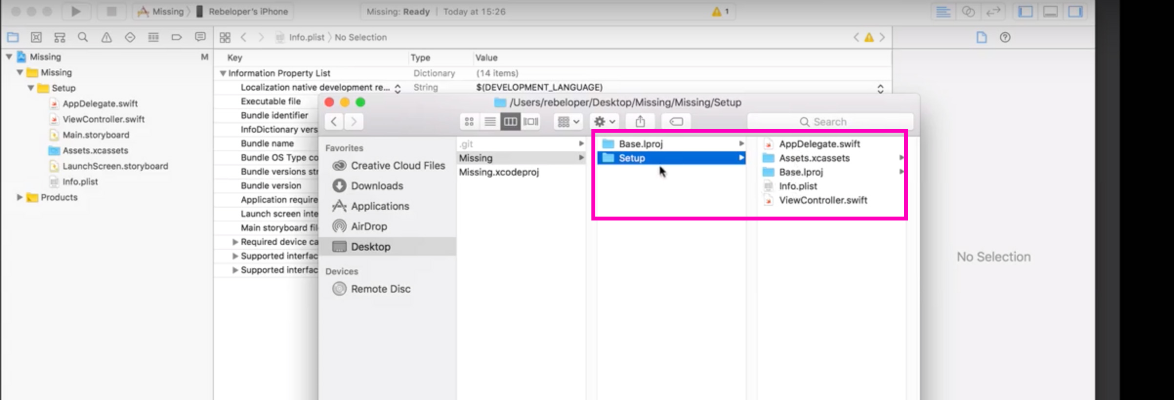 Missing Info plist File Issue Solved in 3 Steps [2019