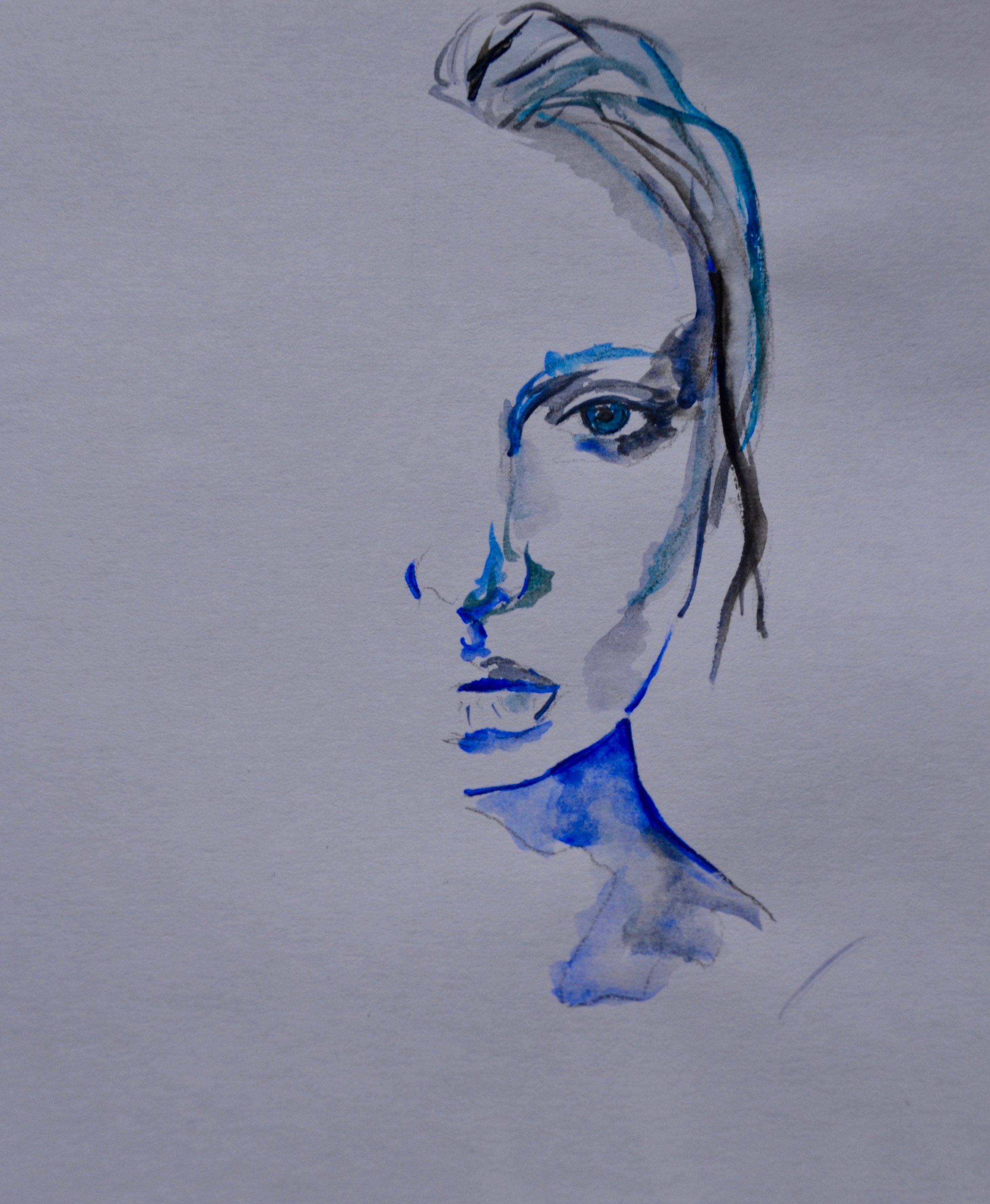 Drawing by Chryssi Soteriades