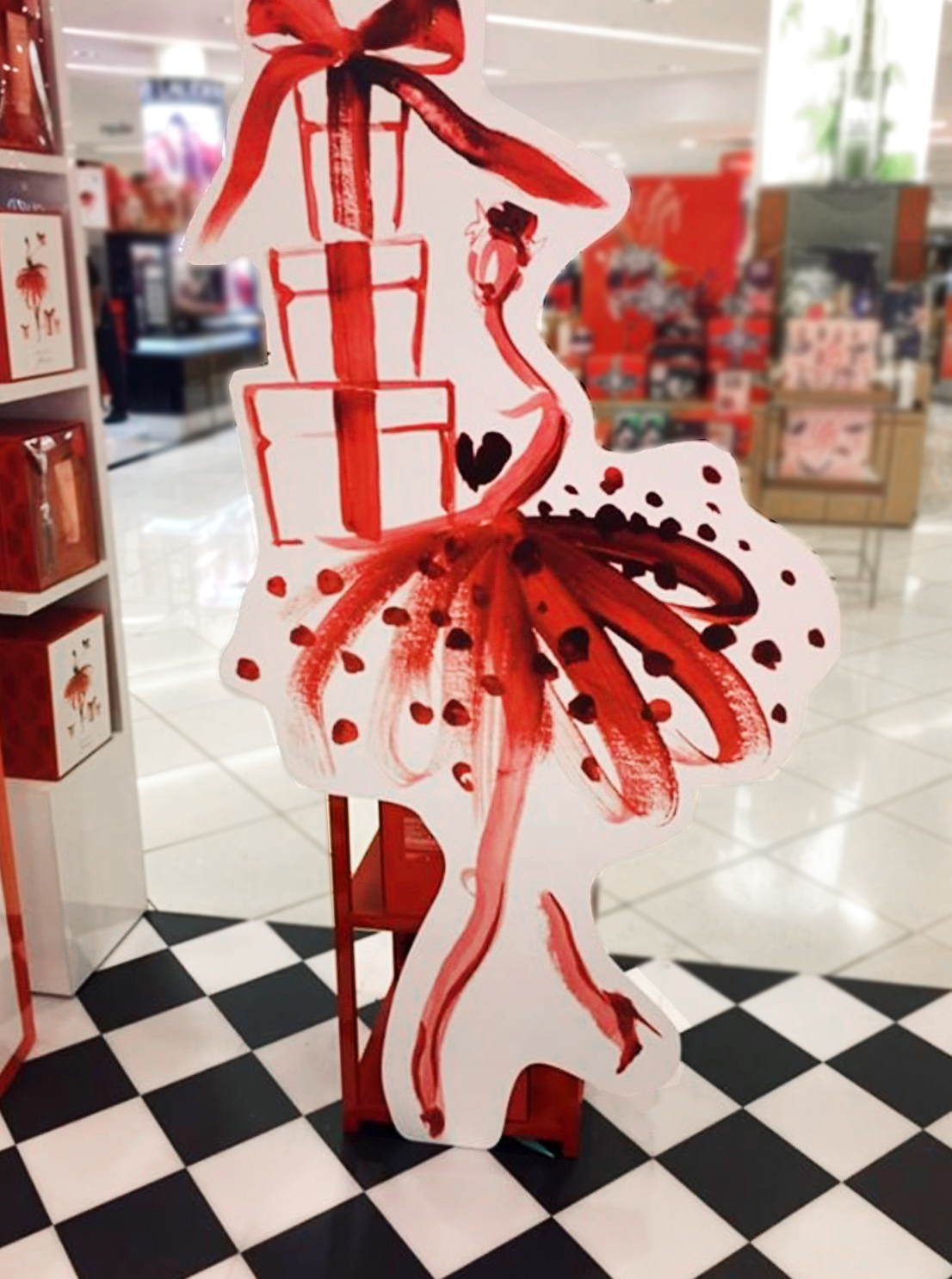 Paper Fashion x Estee Lauder Holiday 2017